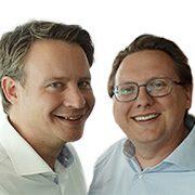 Joost van den Berg en Gerben Janson